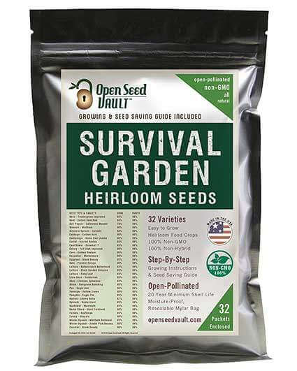 Bag of Survival Seeds