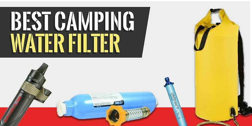 Camping Water Filter Review and Buying Guide