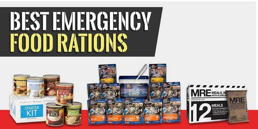 Emergency Rations and Survival Food Buying Guide (Top of Page Image)