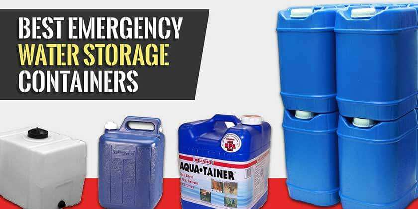Emergency Water Storage Containers Review and Buying Guide