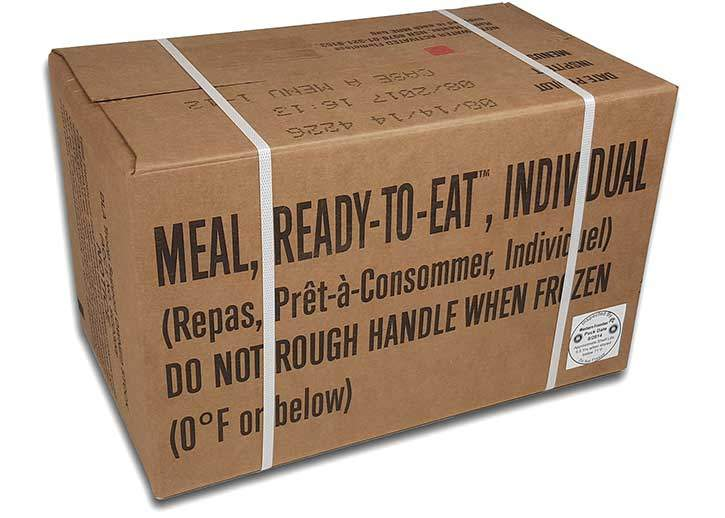 Box of Meals Ready to Eat