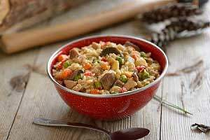 Canned Chicken with Fried Rice