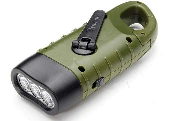Cheap LED Crank Flashlight