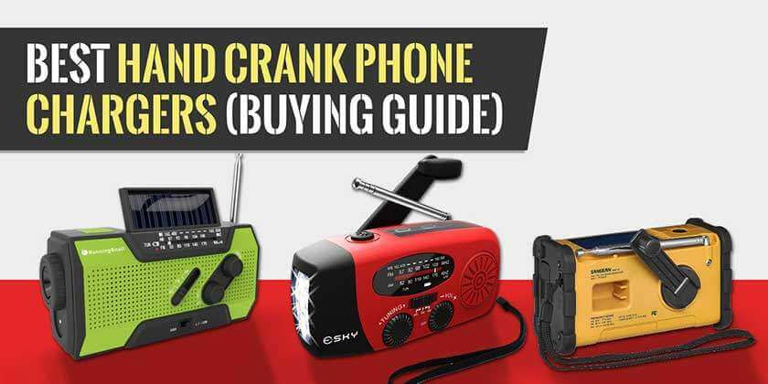 Hand Crank Phone Chargers Buying Guide