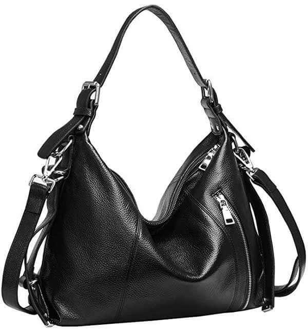 Heshe Vintage Leather Body Bag