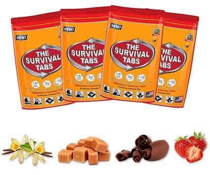 Non GMO Survival Tabs