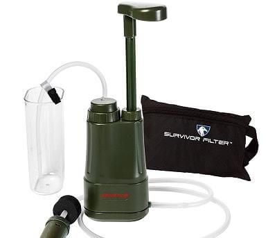 Pump Action Water Filtration System