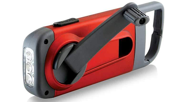 Red Cross Crank Charger