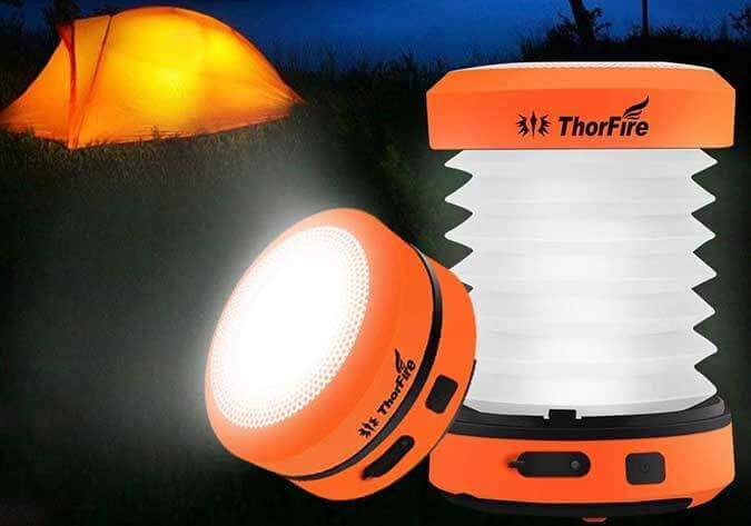 Thorfire LED Camping Lantern Flashlight