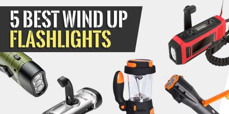 5 Best Wind Up Flashlights (Hand Crank) 2019 - Marine Approved
