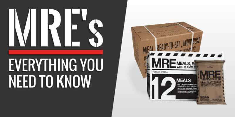 MRE Meals Buying Guide
