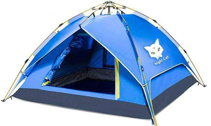 2-4 Person Tent (Easy-set-up)