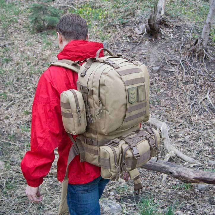 3V Gear 3-Day Operators Tactical Get Home Backpack