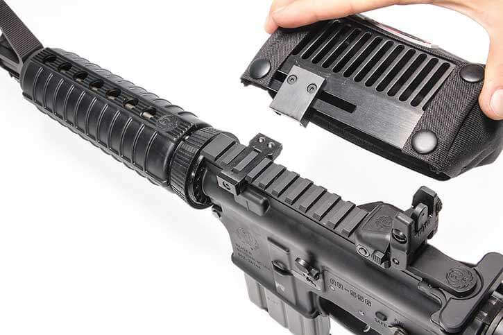 AR-15 Shell Catcher with Picatinny Rail Mount