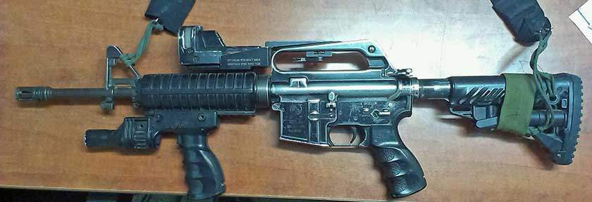 AR-15 with Reflex Sight
