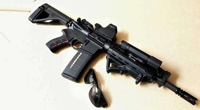 AR-15 with Sightmark Reflex Sight