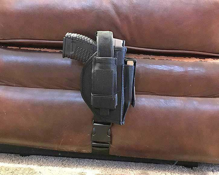 Ambidextrous Holster with Mag Pouch