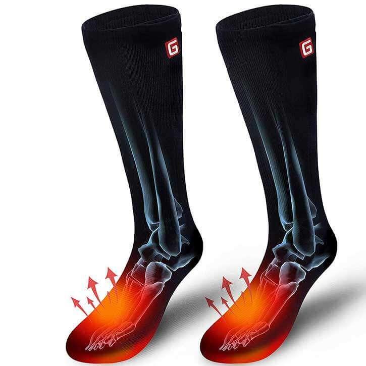 Autocastle Rechargable Battery Heated Socks
