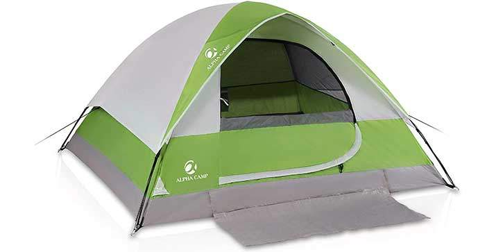 Camping Tent with Mud Mat