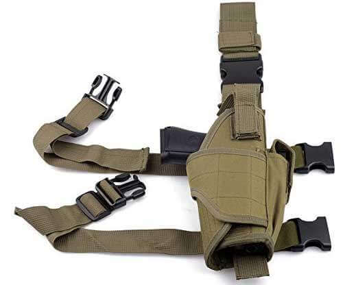 Cisno Adjustable Leg Holster