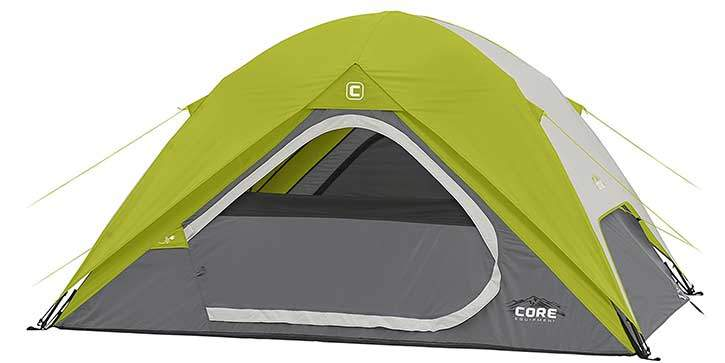 Core Quick Set Up 4 Man Tent