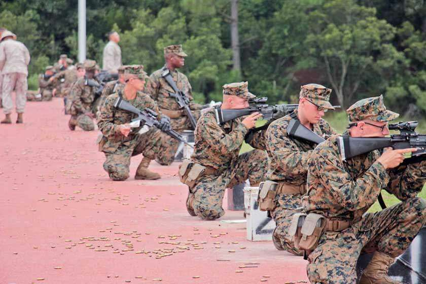 Firing Week Marine Boot Camp