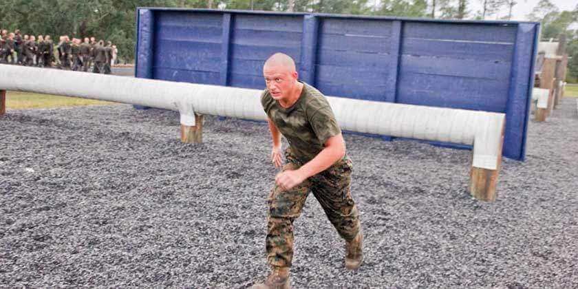 Marine Obstacle Course