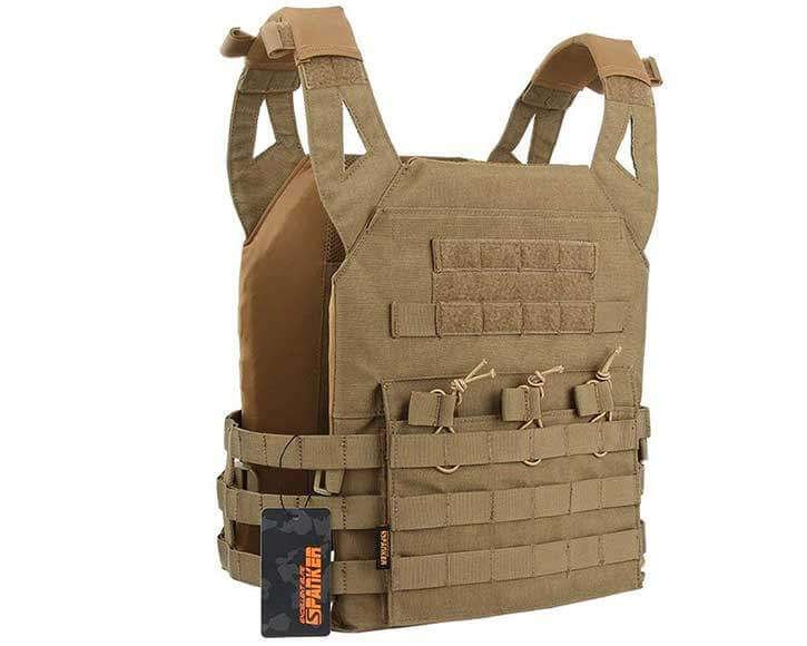 Plate Carrier for Airsoft or Paintball