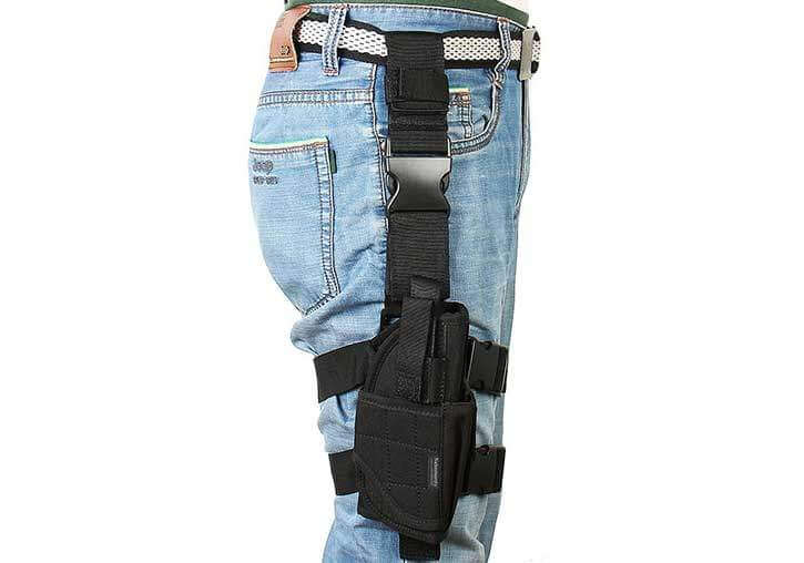 Right Handed Draw Thigh Holster