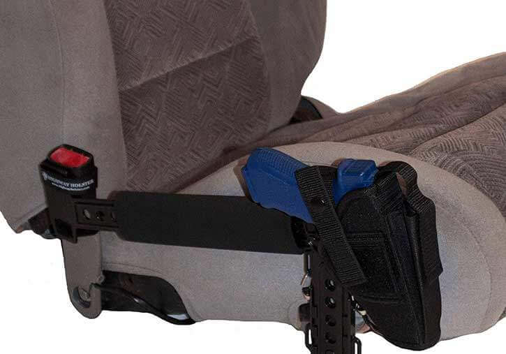 Seat Belt Fastened Holster