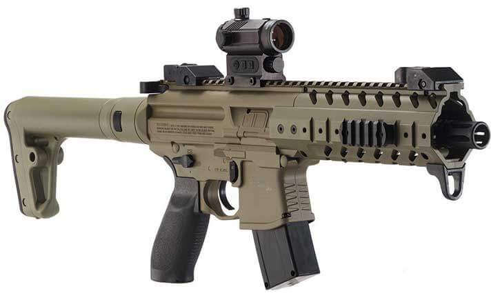 Sig BB Gun with Red Dot Sight