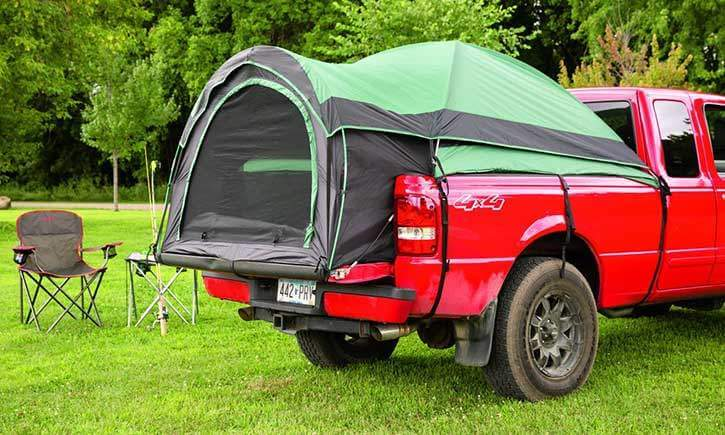 Small and Compact Truck Tent by Guide Gear