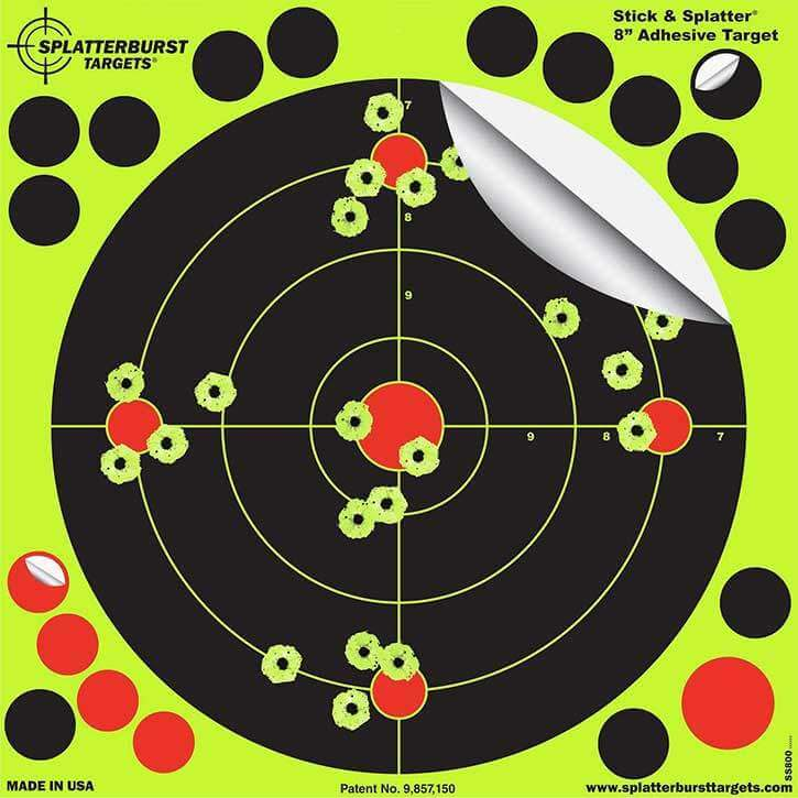 Splatterburst Pellet Gun Target