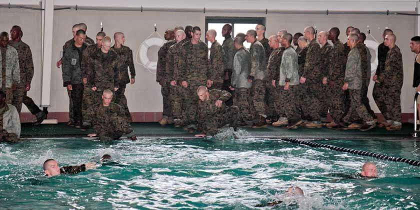 Swim Week USMC Basic Training