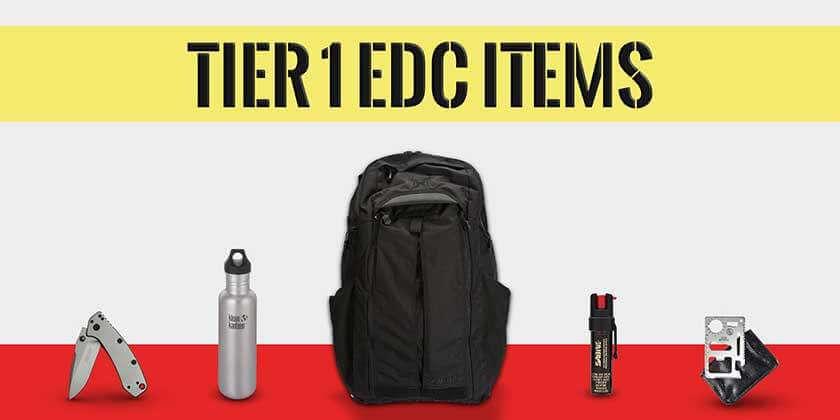Tier 1 get home bag Items