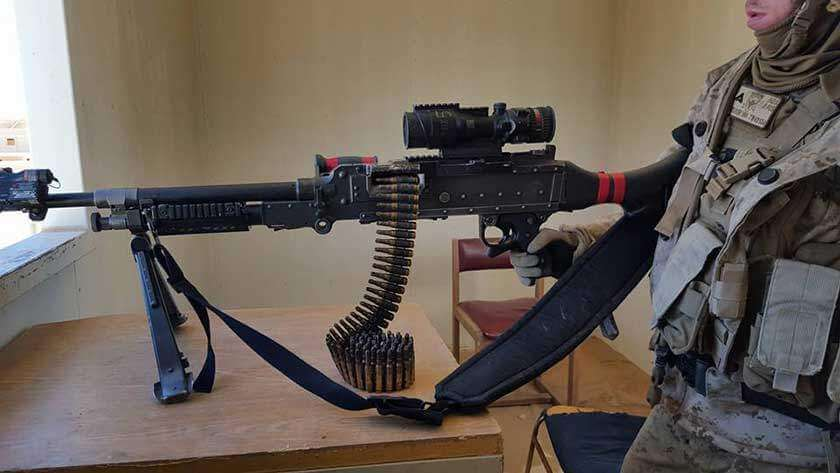 Infantry Machine Gunner in SOI