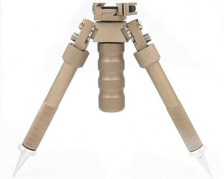 Jinse Quick Release Bipod Foregrip Combo (Brown)