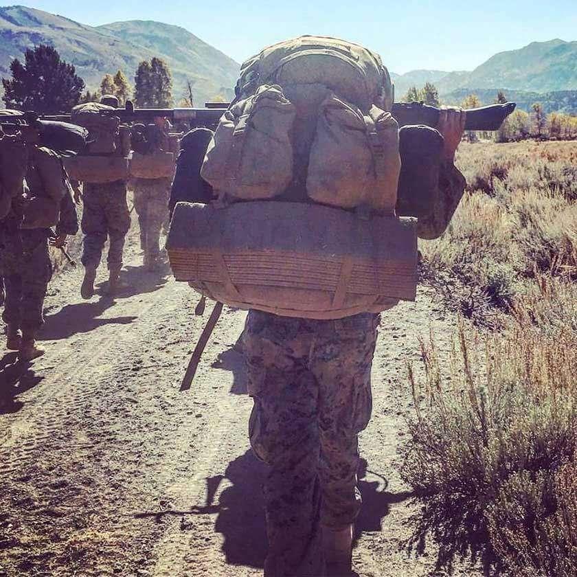 Marine Hiking Large Pack