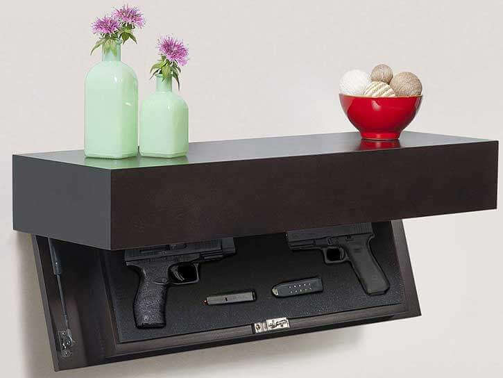 Pistol Concealment Shelf