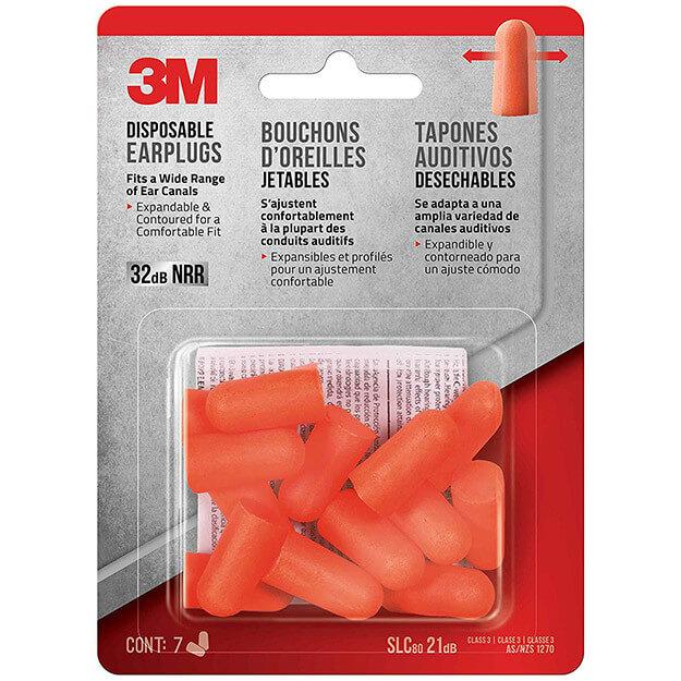 3M Disposable Earplugs