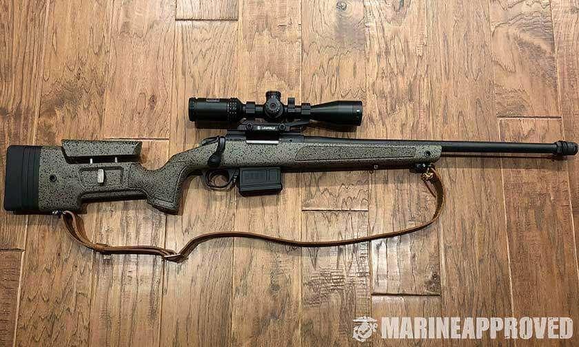 Bergara 308 Rifle with Scope