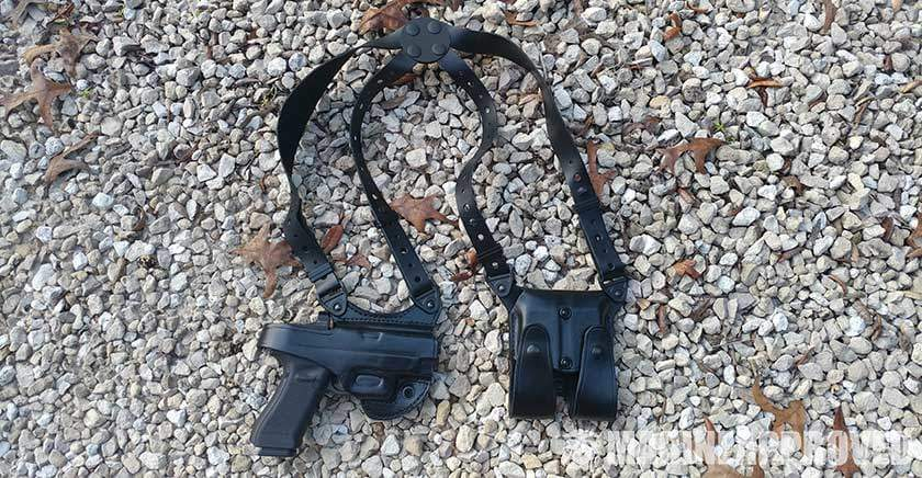 Gould and Goodrich Gold Line Shoulder Holster