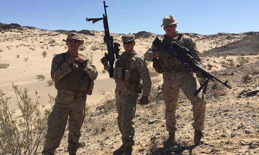 Infantry Marines in 29 Palms