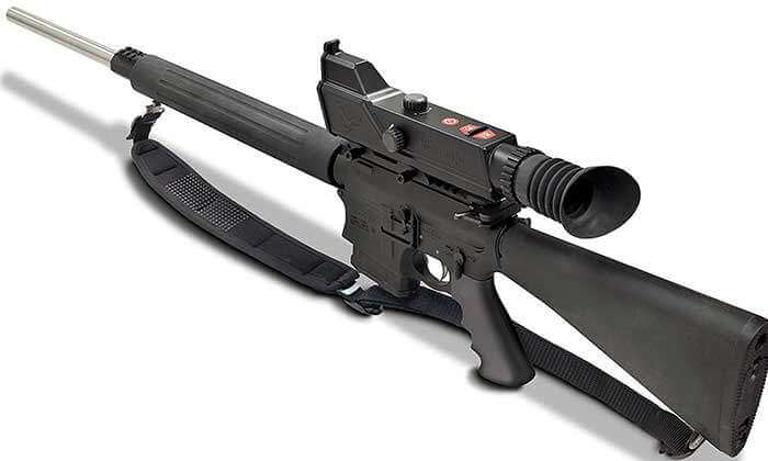 NightShot Digital Night Vision-Rifle Scope with IR illuminator