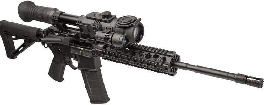 Sightmark Night Vision Scope Mounted on Rifle