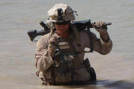 Corporal Pike in Afghanistan