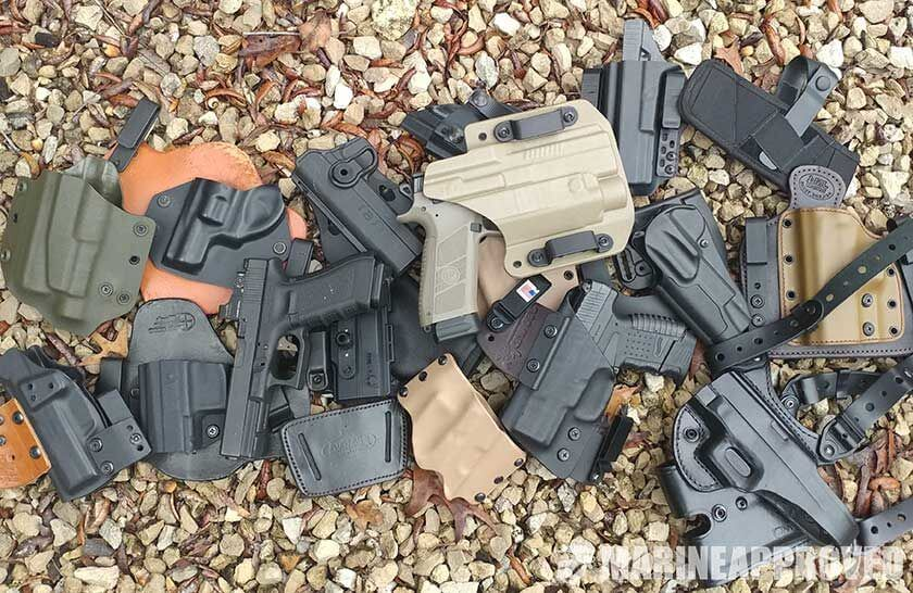 Pile of the Best Concealed Carry Holsters