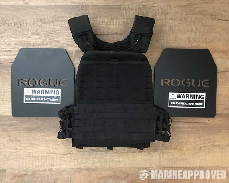 TacTec Plate Carrier with Rogue Plates