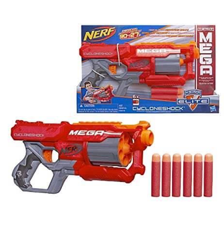N-Strike Elite Mega CycloneShock Blaster