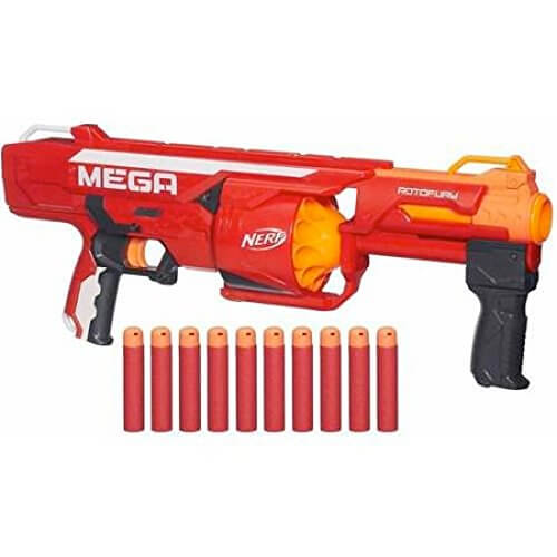Nerf Mega Series RotoFury Blaster